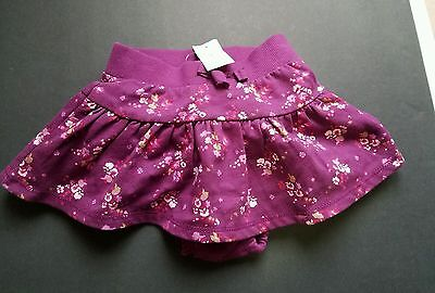 babyGap Toddler Girl NWT Cotton Spring Skirt and Bloomers 12-18 Months