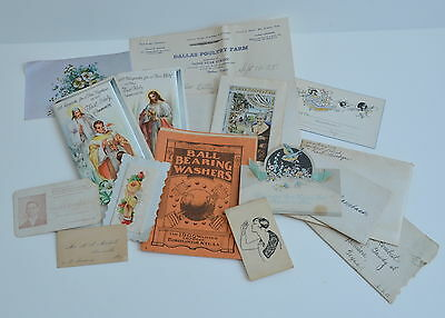 Greeting Cards Ephemera Personal Letters Manuals Cards