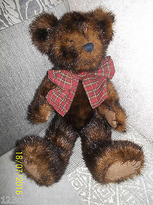 Boyds Bear teddy SABLE B BEARSDALE FullY Jointed Handmade with Tags Retired