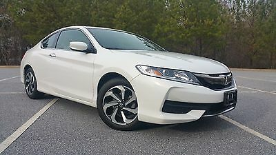2016 Honda Accord LX-S 2016 Honda Accord Coupe LX-S Only 6k Miles, No Accidents, Like New, No Reserve!!