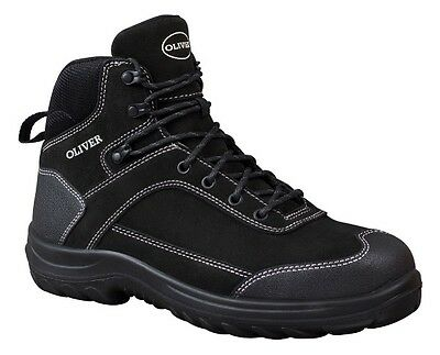NEW Men's OLIVER Hiking Safety Boots Steel Toe Scuff Cap RRP $134.95