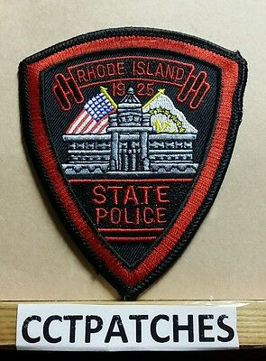 Rhode Island State Police (Small) Shoulder Patch Ri