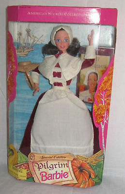 Barbie American Stories Collection Pilgrim Doll 1994