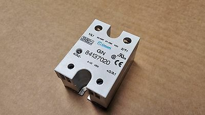 Crouzet GN 84137020 Solid State Relay 50 Amp