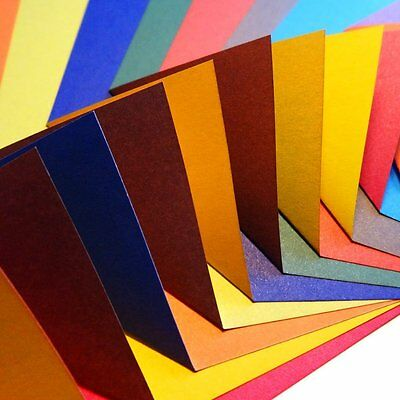 100 Sheets Origami Paper - Contrasting Colour Collection by Folded Square