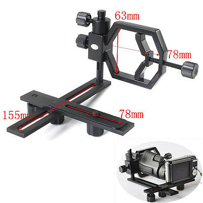 Universal Stand Metal Spotting Scopes Telescope Mount Bracket For Camera Phone