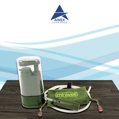 Outdoor Survival Emergency Hiking Camping Portable Soldier Water Filter Purifier