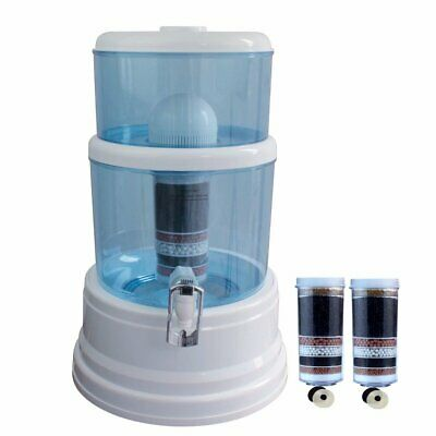 NEW 8 Stage Awesome Water Filter Ceramic Carbon Mineral Bench top  Purifier pot