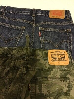 kids levis lot of 2 pants straight and jogger size 10/12