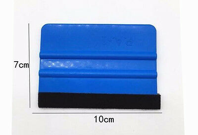 1 PC  Car Vinyl Wrap Application Kit Plastic Felt Wrapped Edge Squeegee Scraper