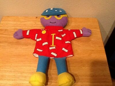 """Letter People Puppet The Letter I Plush Puppet 15"""""""