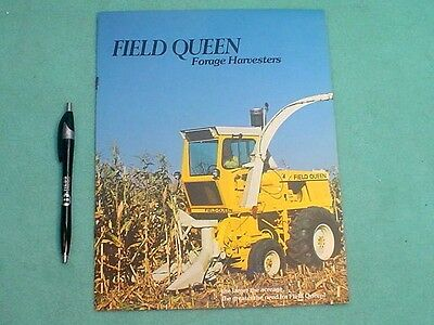 1974 Hesston Field Queen Forage Harvester Brochure
