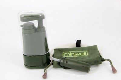 AWESOME PORTABLE WATER FILTER CAMPING HIKING EMERGENCY SOLDIER Aimex