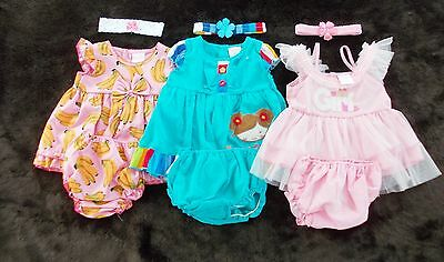 #B157, New 9 Pcs/3 Set Baby Girl Clothes For Baby Girl 3-6 Months