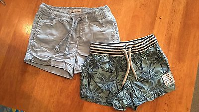 Country Road Boys Shorts x2 Size 2