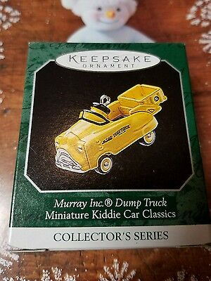 Hallmark Ornament 1998 Murray Dump Truck #4  Kiddie Car