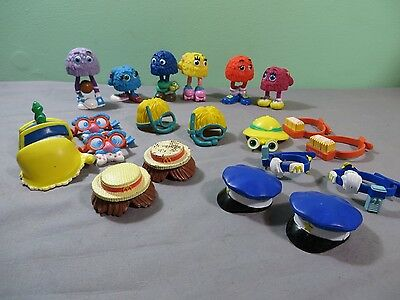 Vintage 1980S Mcdonalds Happy Meal Fry Guys And Accessories