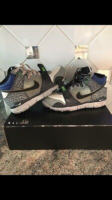 new product bd57c 1c3c4 NIKE X MITA TRAINER DUNK HIGH, 317390-001, Men s Training Shoes, Size