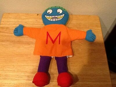 """Letter People Puppet The Letter M Plush Puppet 15"""""""
