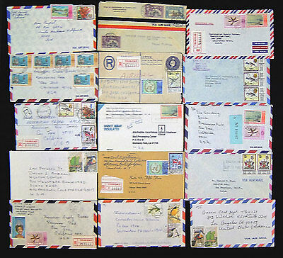 Trinidad & Tobago Lot of 60 Postal History Covers.