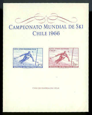 SCOTT #C267v SKIING SOUVENIR SHEET MINT NEVER HINGED-SEE NOTE on C267 CATS $35