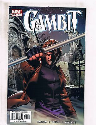 Lot Of 6 Gambit Marvel Comic Books #2 3 4 6 9 10 X-Men Wolverine Beast Angel BF1