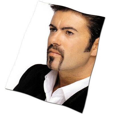 """George Michael Flag Banner 28"""" NEW Cowboys and Angels Outside Freedom"""