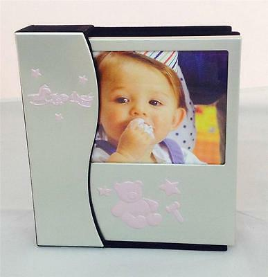 Baby Girl Photo Album Gift (48) - Newborn, Baby Shower Keepsake Gifts Pink