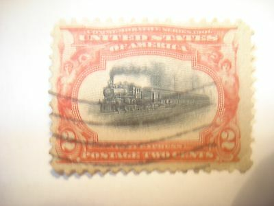 US Postage Stamps (3) 1901  Pan-Am Commemoratives