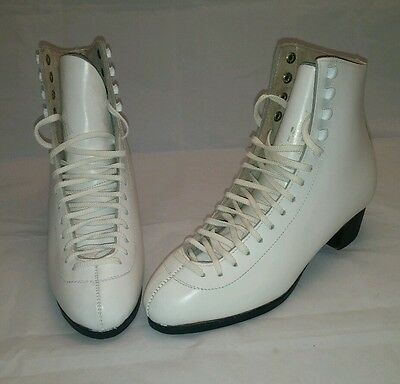 NEW Wifa Champion Padded Figure Skate Shoes Boots EU4-1/2L US6-1/2C NOS No Blade