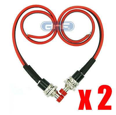 1 Pack Pre-Wired Red Momentary Push Button 12V Switch Spst -Same Day Shipping!