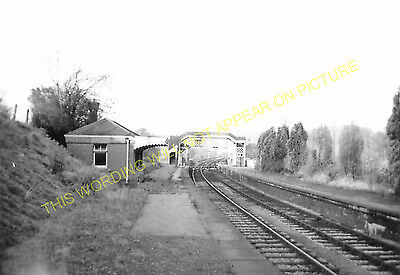 Hallatrow Railway Station Photo. Clutton - Midsomer Norton. Radstock Line. (11)