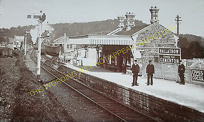 Hallatrow Railway Station Photo. Clutton - Midsomer Norton. Radstock Line. (10)