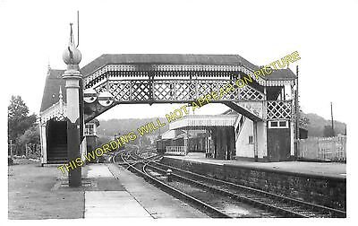 Hallatrow Railway Station Photo. Clutton - Midsomer Norton. Radstock Line. (6)