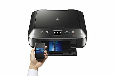 Canon PIXMA MG6850 A4 Colour Multifunction Inkjet Printer with WiFi