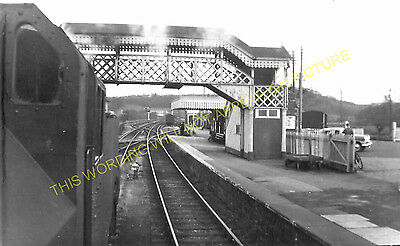 Hallatrow Railway Station Photo. Clutton - Midsomer Norton. Radstock Line. (13)