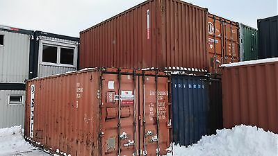 Seecontainer Lagercontainer Materialcontainer 20' - gebraucht - Dresden