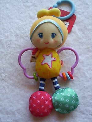 BNWT Baby's Playskool Easy Grasp Butterfly Hanging Toy