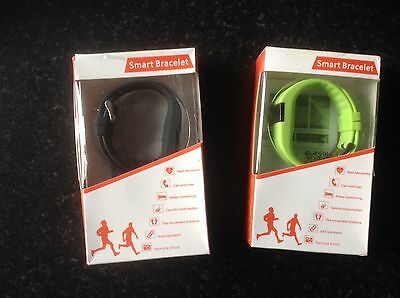 HR Heartrate Fitness Wristband Bracelet Sports Running Cycling Jogging Walking