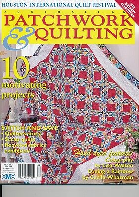 Australian Patchwork and Quilting magazine Volume 17 number 11