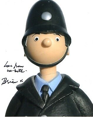Brian Cant  Signed 10-8 Photo