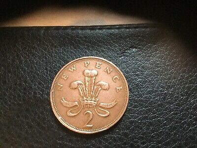 Rare 1971 2p New Pence Coin.