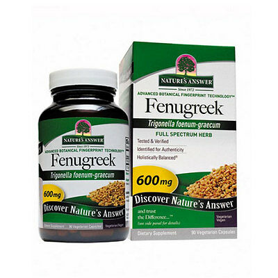 Fenugreek Seed 90 Caps by Nature's Answer