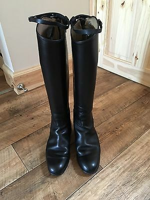 Cavallo Black Long Riding, Showing/Competition, Hunting Boots Size 6.