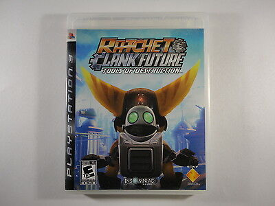 ¤ Ratchet & Clank Future Tools of Destruction ¤ (CASE/ARTWORK ONLY) Good! PS3