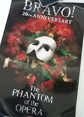 The Phantom of the Opera 20th Anniversary Theatre Poster