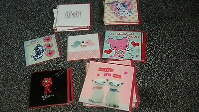 job lot valentines day cards