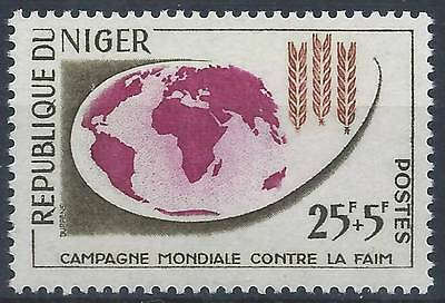 NIGER 1963 SG 128 Freedom from Hunger Mint MH