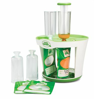 Baby Food Maker Squeeze Station Pack Disposable Pouches Infant Feeding Equipment