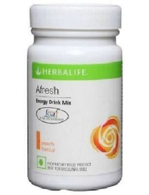New PEACH Afresh Energy Drink mix - 50gm/1.7Oz(Herbal Tea) New Flavour